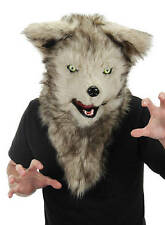 Wolfs-Masque avec mobile bouche Cosplay Furry