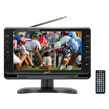 "Supersonic 9"" Portable Rechargeable LCD Digital TV W/Remote AC/DC USB AVI Player"