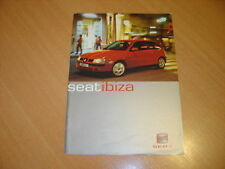 CATALOGUE Seat Ibiza de 2000