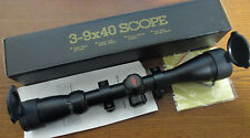NEW PSE FANG UPGRADED SCOPE TAC ELITE CROSSBOW SCOPE 3-9x40