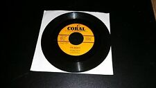 """Alan Dale          """" OH MARIE / JUDY """"   7"""" CORAL RECORDS"""