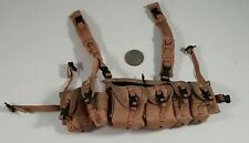 barrack sergeant PMC saw gunner rack vest chest rig 1/6 Toys dam dragon bbi joe