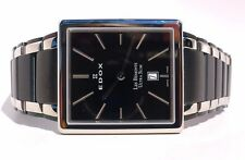 Edox Les Bemonts Rectangular Ultra Slim Men's Watch 27031357NNIN REPAIR NEEDED!
