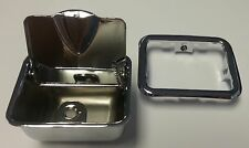1964-1967 Chevelle GTO Lemans Convertible Rear Quarter Ash Tray Assembly Chrome
