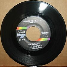 DYNAMIC 7 **SQUEEZE ME** (Parts I & II) Funk Soul 45 on SOUND STAGE 7 2625 VG++