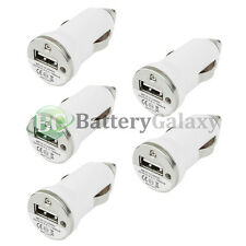 5 USB Travel Battery Auto Car Charger Mini for Apple iPhone SE 6 6S 7 7S Plus