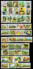 SOMALIA-40 All Different Thematic-Flora & Fauna-Paintings-Scout Stamps