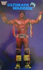 VINTAGE WWF ULTIMATE WARRIOR POSTER (NEW)