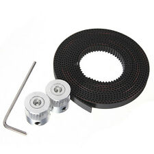 Printer Tool 2× GT2 Timing Pulleys + 2M GT2 Timing Belt For RepRap Prusa Mendel