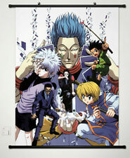 Home Decor Anime Poster Wall Scroll Hot HUNTERxHUNTER DXF Hisoka Japanese 055