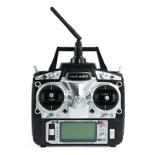 Flysky FS-T6 2.4GHz 6CH Mode 2 Transmitter W/Receiver R6-B for RC Multirotor Car