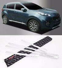 Autoclover Chrome Side Skirt Accent Garnish 4EA For KIA Sportage 2016 2017 QL