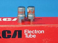 RCA NUVISTOR TUBES 7586 MATCH PAIR AKG C 12A C 28 NEUMANN U 63 64 MICROPHONE