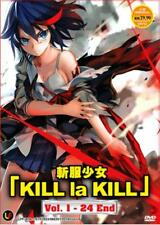 Kill La Kill Anime DVD - eps : 1 to 24 end (with English sub)