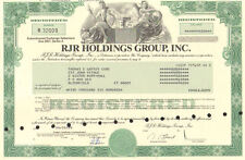 R. J. Reynolds tobacco company Nabisco stock certificate ( RJR Holdings Corp. )