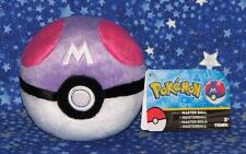 Master Ball Poke Ball Pokemon Plush Stuffed Toy by Tomy USA Brand New with Tags