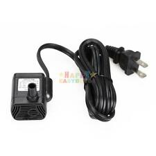 US Plug AC 110V 3W Submersible Water Pump Aquarium Fountain Pond micro mini