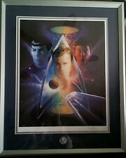 Star Trek 30th Anniversary Autographed Lithograph signed by Matthew Joseph Peak