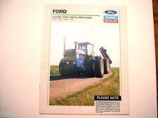 Ford NH Versatile 4-Wheel Drive Tractors Brochure 846, 876, 946, 976 1989     m#