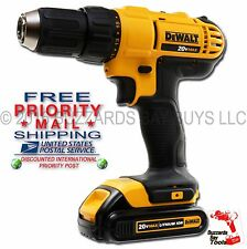 "NEW DeWalt 20v MAX 1/2"" Drill DCD771 & 1.5AH Pack DCB201 FREE PRIORITY SHIPPING!"
