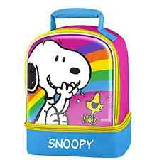 Snoopy Peanuts Lunch Bag, Cute, Charlie Brown, Insulated Storage for Lunch Box