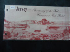 jersey 1978 mail boats presentation pack MNH