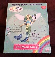 The Magic Mask 250 pc Mystery Jigsaw Puzzle Game NEW SEALED Flora Fancy Dress