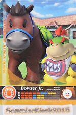 Bowser Jr. à cheval nº 055 Mario sports super stars amiibo Jimmie Cards 3ds