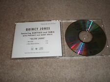QUINCY JONES CD SLOW JAMS BABYFACE TAMIA PORTRAIT BARRY WHITE US DJ ADVANCE