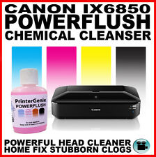 Canon IX6850: Head Cleaner - Nozzle Cleanser: Streaky Print Fix - Printer Clean