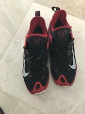 Nike Men's Sneakers Size 10 Black Red And White