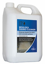 LTP Mouldex 5 Litre Paving and Patio Cleaner Kills Mould Fungus Algae Black Spot