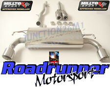 Milltek Golf R32 MK4 Exhaust Sports Cat & Cat Back Non Res System GT100 Tails