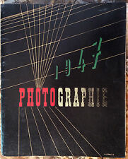 PHOTO 1947. PARIS. EDITIONS ARTS ET METIERS GRAPHIQUES. 1947. BRASSAI. DOISNEAU.