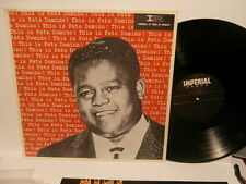 """fats domino""""this is fats domino""""lp12""""fr.1981.imperial:2c06862383."""