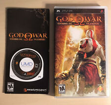 God of War Chains of Olympus Sony PSP PlayStation Complete