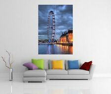 LONDON EYE GIANT WALL ART PICTURE PRINT POSTER G81
