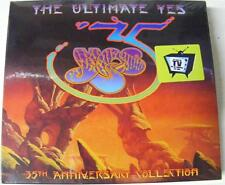 YES THE ULTIMATE YES 35TH ANNIVERSARY COLLECTION 3 CD BOX SET NEW SEALED PROMO