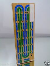 Traditional Wooden Cribbage Board Game Set USA Made World Wide Games New Sealed