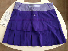 Lululemon Bruised Berry Purple Pacesetter Skirt Size 2T 2 Tall NWT BRBY / WSBY