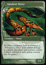 MTG 2x VIRULENT SLIVER - TRAMUTANTE VIRULENTO - FUT - MAGIC