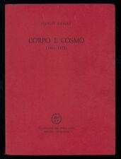 RAMAT SILVIO CORPO E COSMO 1964-1972 ALL'INSEGNA DEL PESCE D'ORO 1973 LUNARIO 31