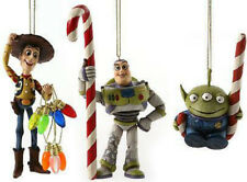 Jim Shore Xmas Ornament TOY STORY Disney Traditions Buzz Lightyear Woody Alien