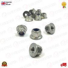 4X FORD FLAT SEAT HEXAGON M6 NUTS FOR VARIOUS MODEL AND ASSEMBLY 4717807