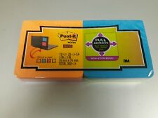 Post-it Super Sticky Full-Adhesive Notes 3x3,: MMM F33012S 12 pads