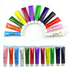 12 Colors Painting gel Acrylic 3D Nail Art Paint Tube Draw Nail Art Tip UV Gel