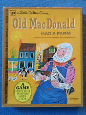 OLD MACDONALD HAD A FARM Little Golden Game Western Publishing 1977 Complete