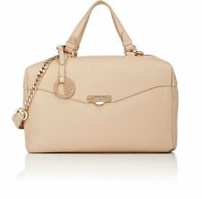 Versace Sand Beige Grained Leather Boxy Satchel Bag NWT $1334