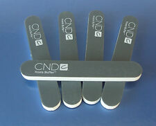 CND KOALA NAIL FILES PACK of 5,  240/1200 GRIT black acrylic uv gel