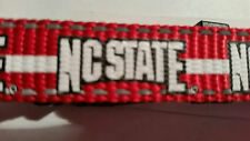 NC State Dog Collar Size S Small 10 - 14 in. North Carolina State University New